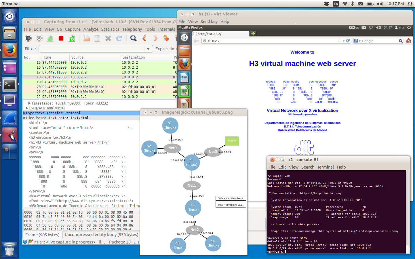 Vnx Linux Network Simulator Review Open Source Routing